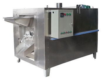 China Full Automatic Green Tea Roasting Machine Cocoa Pine Cashew Nut Roasting Machine supplier
