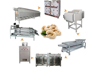 Automatic Cashew Processing Machine Low Energy Consumption Eco - Friendly