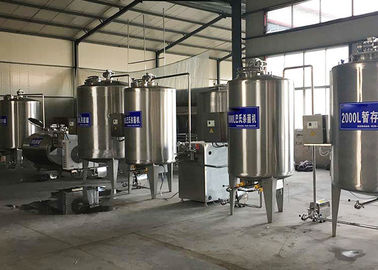 Liquid Aseptic Milk Processing Machine , Pasteurized Yogurt Filling Machine