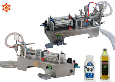 Liquid Vial Beverage Can Tin Semi Automatic Filling Machine 500W Power