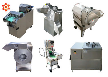 China High Efficiency Vegetable Cube Cutting Machine Yam Cutting Machine Energy Saving supplier