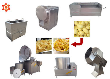 150kg/H Capacity Potato Chips Machine 304 Stainless Steel Material CE / ISO