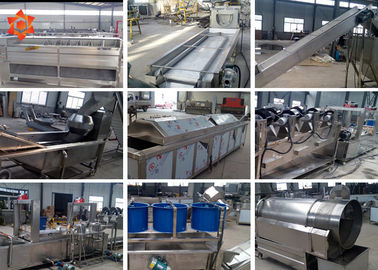 Commercial Automatic Food Processing Machines Potato Chips Making Machine