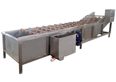 Industrial Vegetable Processor Machine , Fruit And Vegetable Washer Machine
