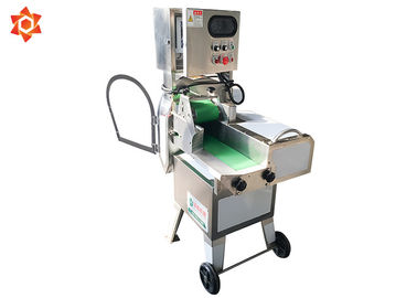 China Multifunction Commercial Electric Slicer Dicer Green Leafy Vegetable Cutter factory