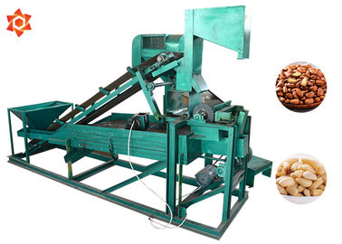 China Low Energy Consumption Pine Nut Shelling Machine Electric Control 1 Year Warranty factory