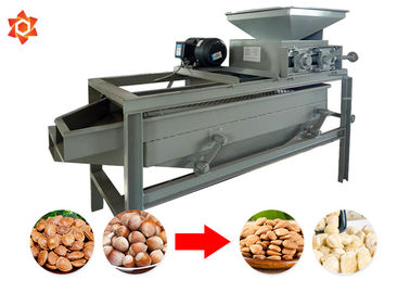 China Almond Shelling Peanut Processing Machine 220v Voltage 2.2 Kw Power factory