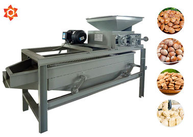 China 2.2 Kw Peanut Processing Machine Peanut Cracking Machine 300 - 400kg/H Capacity factory