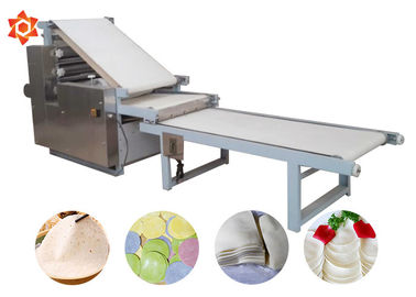 China High Efficiency Automatic Pasta Machine Pizza Dough Sheeter 304 Stainless Steel Material factory