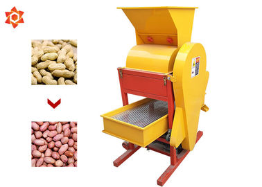 China Large Capacity Food Industry Equipment Electric Peanut Sheller 2.2kw Power distributor