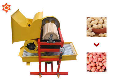 China Type TK-500 Peanut Processing Machine Manual Groundnut Sheller Steel Material distributor