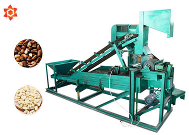 China High Efficiency Electrical Nut Shelling Machine 460kg Weight 220v / 380v factory