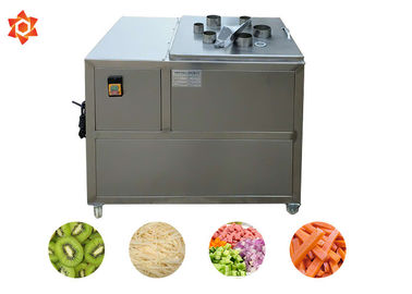 China 500 Kg/H Capacity Vegetable Processor Machine Commercial Potato Chips Cutter factory