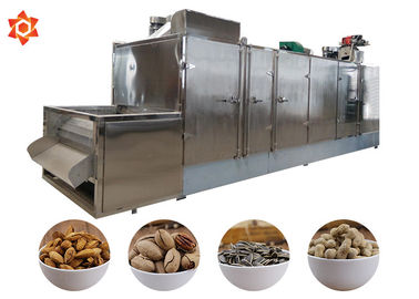 China Belt Type Nut Processing Machine Continuous Baking Drying Cooling Machine distributor